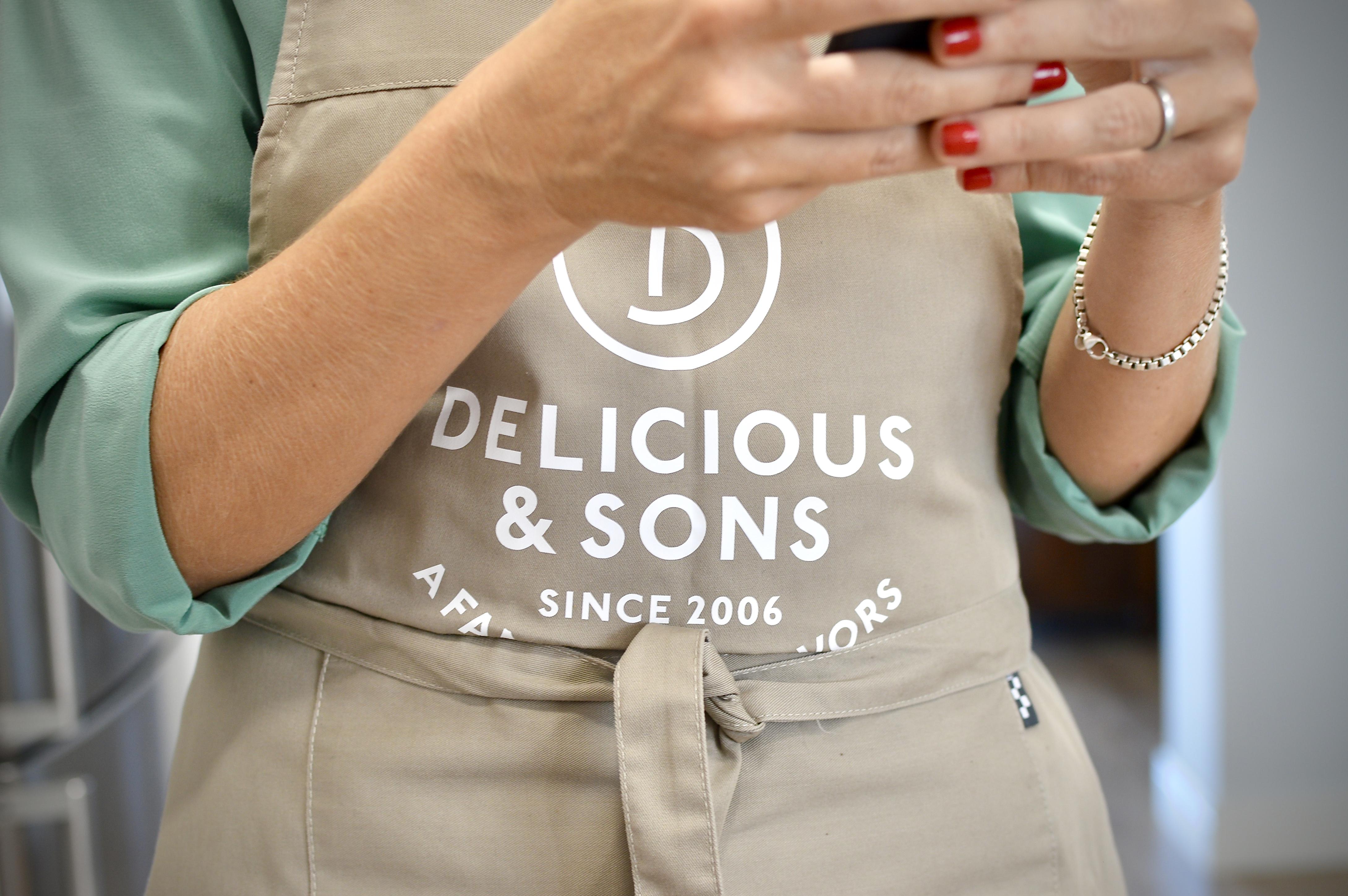 Hoy cocino con... Mónica de Delicious&Sons