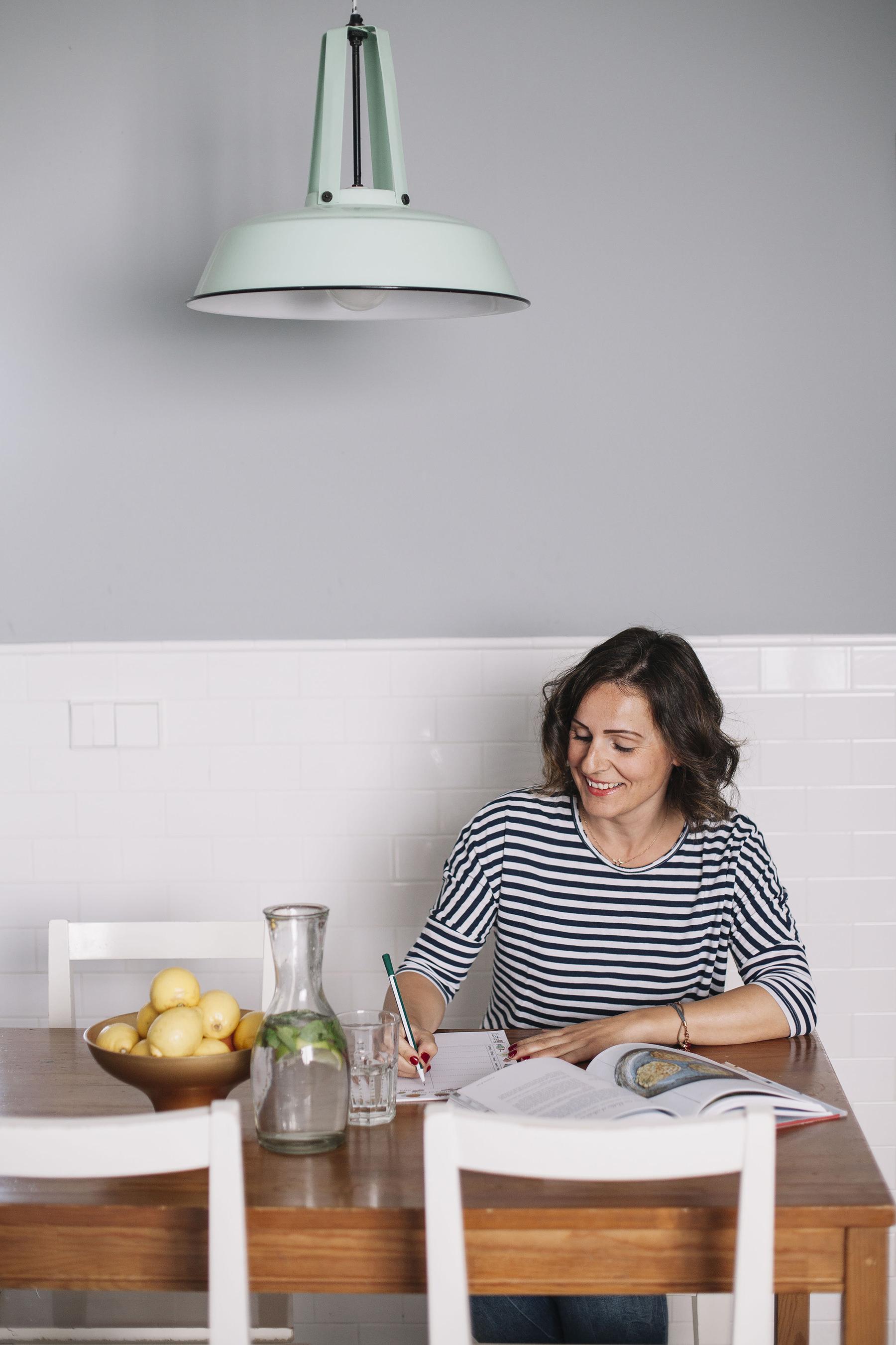 Cristina Ferrer, come bien todos los días