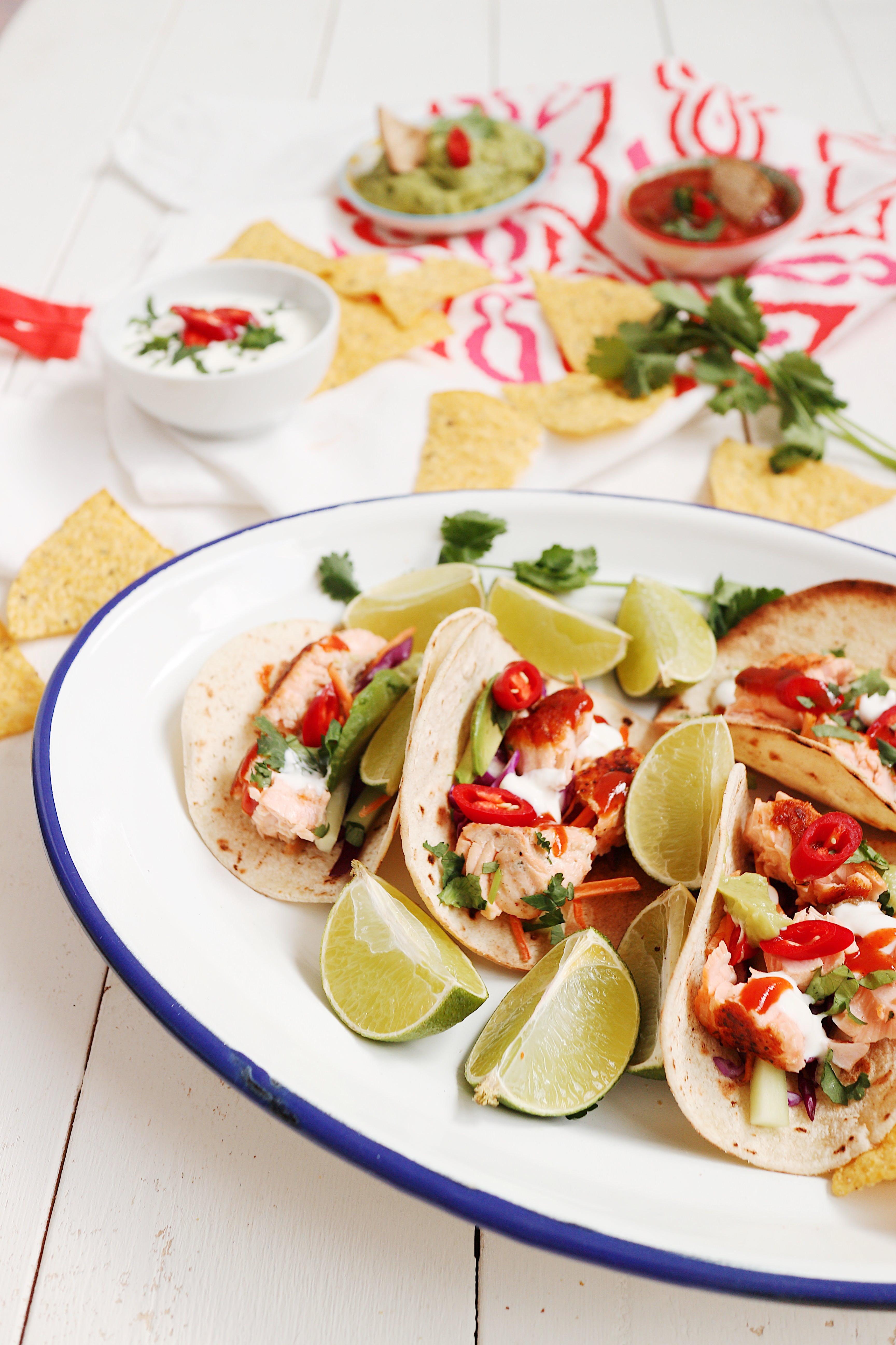 tacos salmón AhorraMás